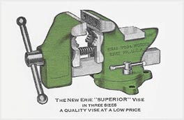 Erie Too Works Vise